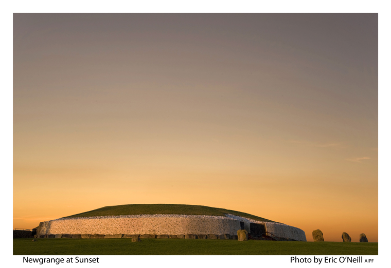 Newgrange at sunset