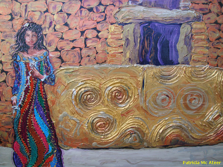 Gold Entrance with Cailleach